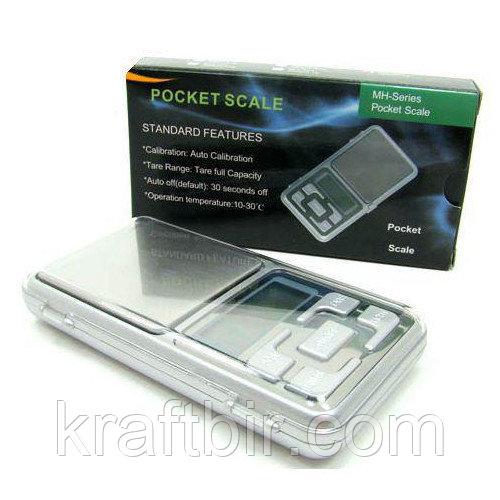 Весы лабораторные электронные Pocket Scale MH-100/MH-200/MH-500