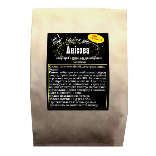 Анисовая на 1 литр Набор для экспресс настойки Акация-70
