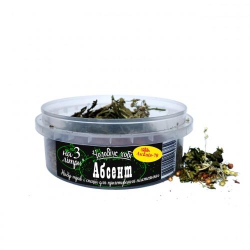 Абсент на 3 литра Набор трав и специй для настойки Акация-70